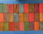 Great Wall from Riverwoods by Troy Corp - 27 Fat Quarter Bundle of Modern Asian Inspired Muted Jewel Tone Fabric