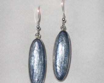 Summer Frost - Kyanite Sterling Silver Earrings