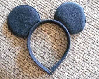 mouse ears headband mickey mnnie mouse inspired costume accessory
