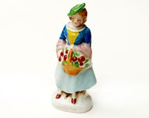 Made in Japan Figurine Lady with Flowers