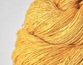 Sunny summer day - Tussah Silk Fingering Yarn
