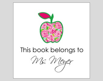 This book belongs to Gift Labels, Stickers, Party Favors