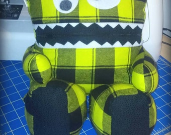 Stuffed Toy, Doll, Lovie, Jamster, Green