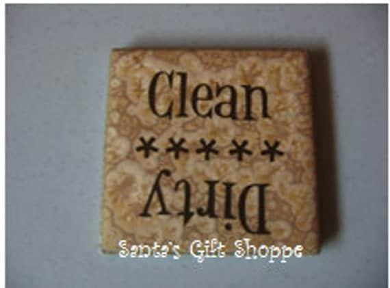 Dishwasher Vinyl Tile Magnet - Christmas -Magnet -Kitchen tile - tile magnet