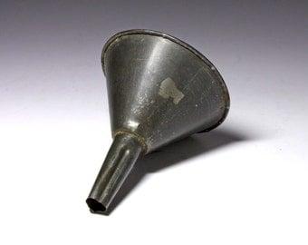 Primitive Steel Funnel - circa 1920's