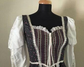 SALE// Vintage Gunne Sax Midi Dress