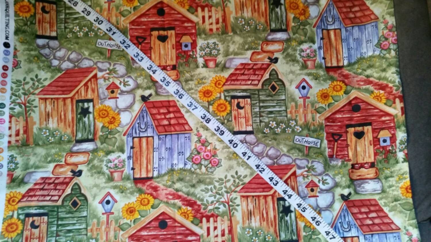 Bathroom Outhouse Shower Curtains   Bathroom Outhouse ...   Outhouse Material