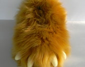 Bear Claw Slippers - Youth Size - Fuzzy, Furry, Monster Slippers