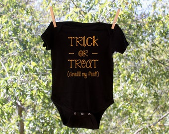 Halloween Trick or Treat Smell My Feet // Infant Bodysuit - AH