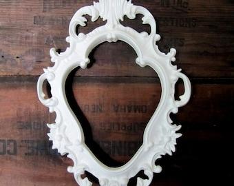 Fancy White Frame
