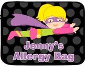Personalized Superhero EpiPen Auvi-Q Allergy Case