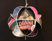 Donna Summer Album Cover Ornament Made Of Record Jackets