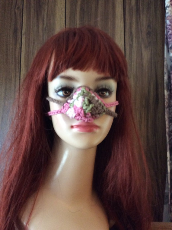 Crochet Nose Warmer : Crocheted Nose Warmer Nosies by KnittingOleBag on Etsy