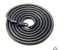 Stealth Series Sterling Snake Chains