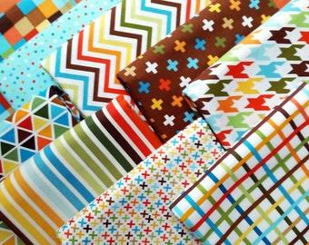 Remix Rainbow Bermuda Fat Quarter Bundle - Ann Kelle / Robert Kaufman Fabrics