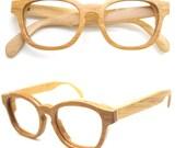 handmade bamboo glasses eyeglasses MJX1103 with watches