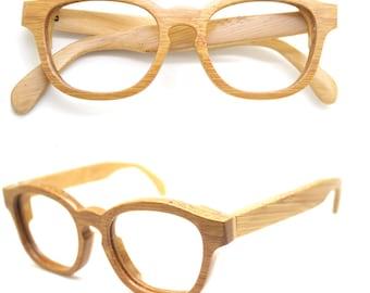 Handmade Bamboo  Eyeglasses Mjx1103 prescription RX glasses sunglasses