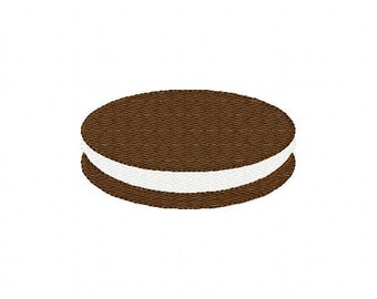 Cream Filled Cookie Machine Embroidery Design Instant Download Joyful Stitches // Joyful Stitches
