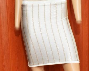 Stripe Skirt Set