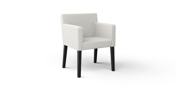 Ikea Nils Armchair Slipcover Only In Liege Eggshell