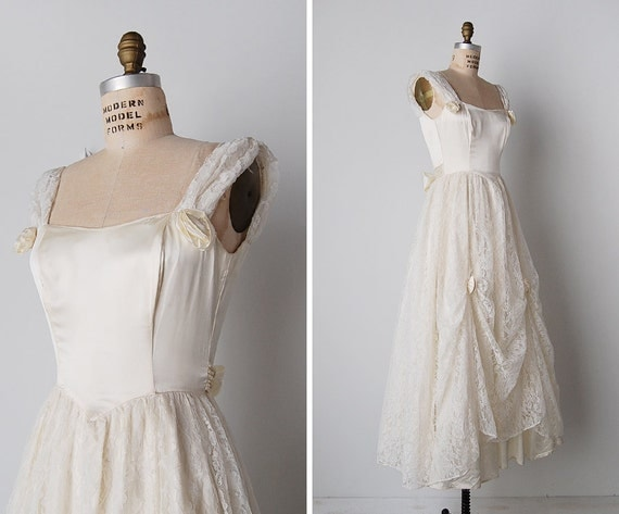 Vintage wedding dress 1970s wedding dress vintage white for 1970s wedding dresses for sale