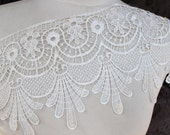 Very cute  white color  venice  lace