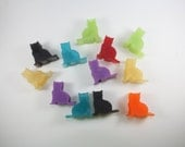 Itty Bitty Kitty Committee - 12 Guest Soaps - party favor, halloween, crazy cat lady, cat lover, kitten, cat mom, trick or treat, black cat
