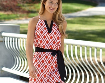 Monogrammed Personalized Game Day Dress by Mudpie