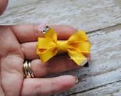 Back to school mini pencil bow