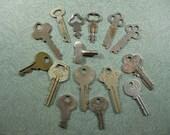 15 Old Keys