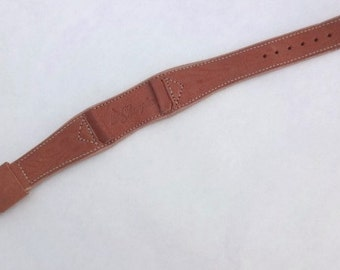 Western Style Leather Watchband by JB Champion