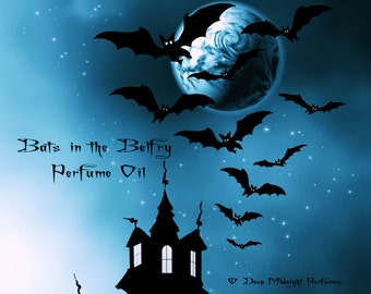 Bats in the Belfry Perfume Oil - Galbanum, Pimento, Damp Earth - Gothic Perfume - Halloween perfume