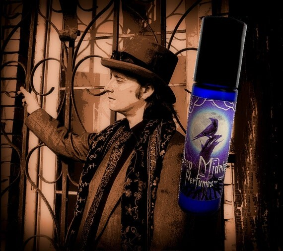 BOURBON STREET Perfume Oil -  Bay Rum, Vanilla, Musk - Gothic Perfume - Victorian perfume