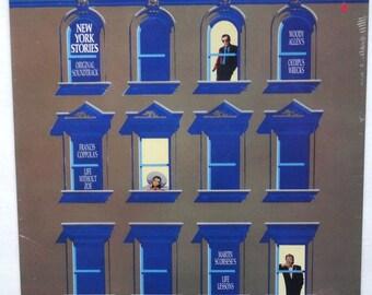 "Sealed ""New York Stories"" Vinyl Soundtrack (1988) Bob Dylan, Cole Porter"