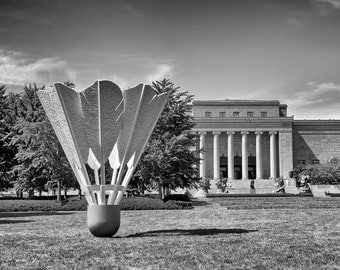 Kansas City Nelson Atkins Art Museum - Fine Art Photograph Landmark