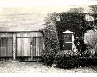 Vintage Photo, Historic House, The Greater Light, Nantucket Island, Black & White Photo, Old Photo, Found Photo, Snapshot    *AUGUSTINE0853