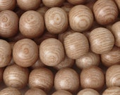 Wood-10mm Round Rosewood Bead-16 Inch Strand