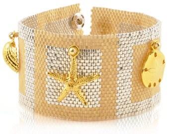 Beading Patterns-Printed Pattern & Kit-Sandbox-24kt Gold