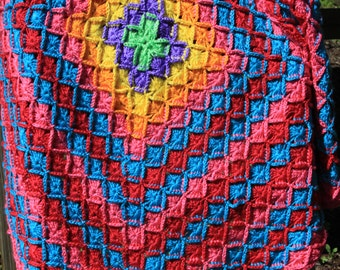 Colorful Child's Throw