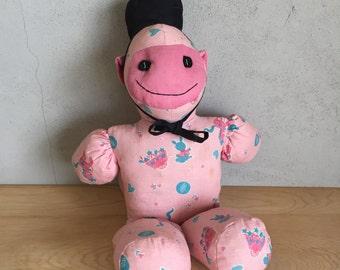 Vintage Monkey from Berea College - Stuffed Monkey - Stuffed Animal - Organ Grinder Monkey