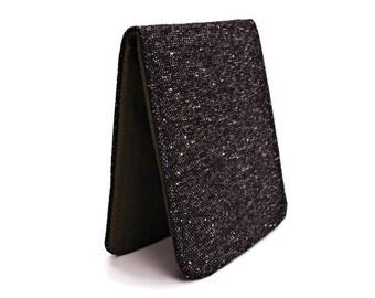 Slimline Wallet,Black Bifold Wallet,Slim Pocket Wallet,Comfort Billfold,Retro Wallet Grey,Mens Thin Wallet,Classic Wallet Man,Minimal Wallet