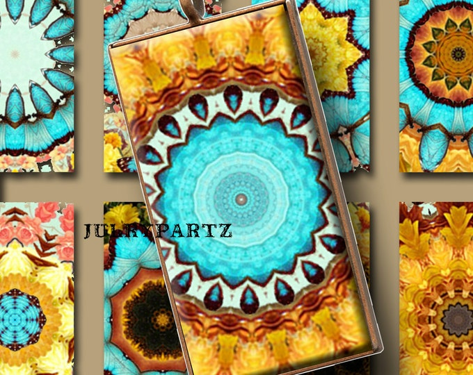 INDIAN SUMMER, 1x2 images, Printable Digital Images, Cards, Gift Tags, domino, Magnets