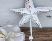 Starfish Hook, Nautical Hook, Beach Decor