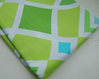 Monaco by Dena Designs Diamond Green Fabric, OOP Fat Quarter