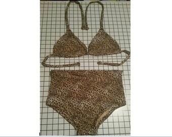 Cheeky High Waist Bikini