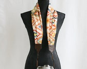 LAST CALL SALE - desert sun scarf camera strap