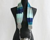 Nantucket scarf camera strap