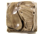 Elephant Tile - 4 inches
