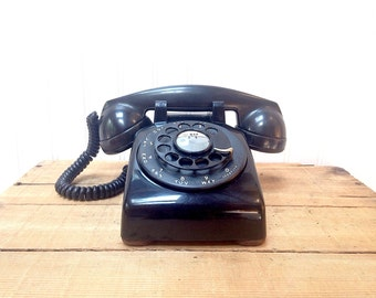 Vintage Western Electric Bell Systems Rotary Desk Phone 5304C