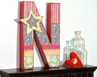 Wall letters, Custom, Embellished, Large